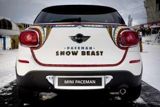 Art-Inszenierung MINI Paceman.
