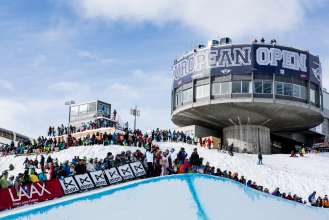 MINI @ Burton European Open Laax  - Halfpipe.