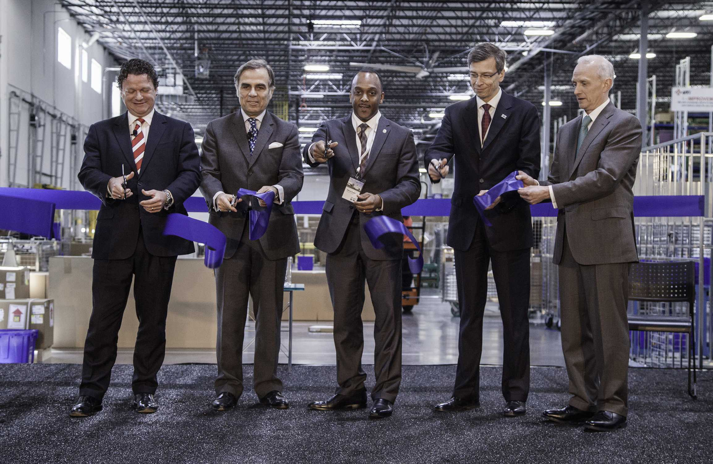 Bmw Group Opens New Regional Parts Distribution Center In Lancaster Texas