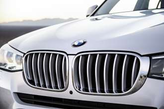 "The new BMW X3 with ""xLine"" package (02/2014)."