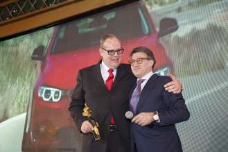 "BMW Group is awarded with a ""Zolotoy Klakson"" (02/2014)"