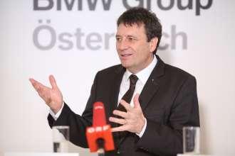 Kurt Egloff, Geschäftsführer BMW Austria GmbH (02/2014)