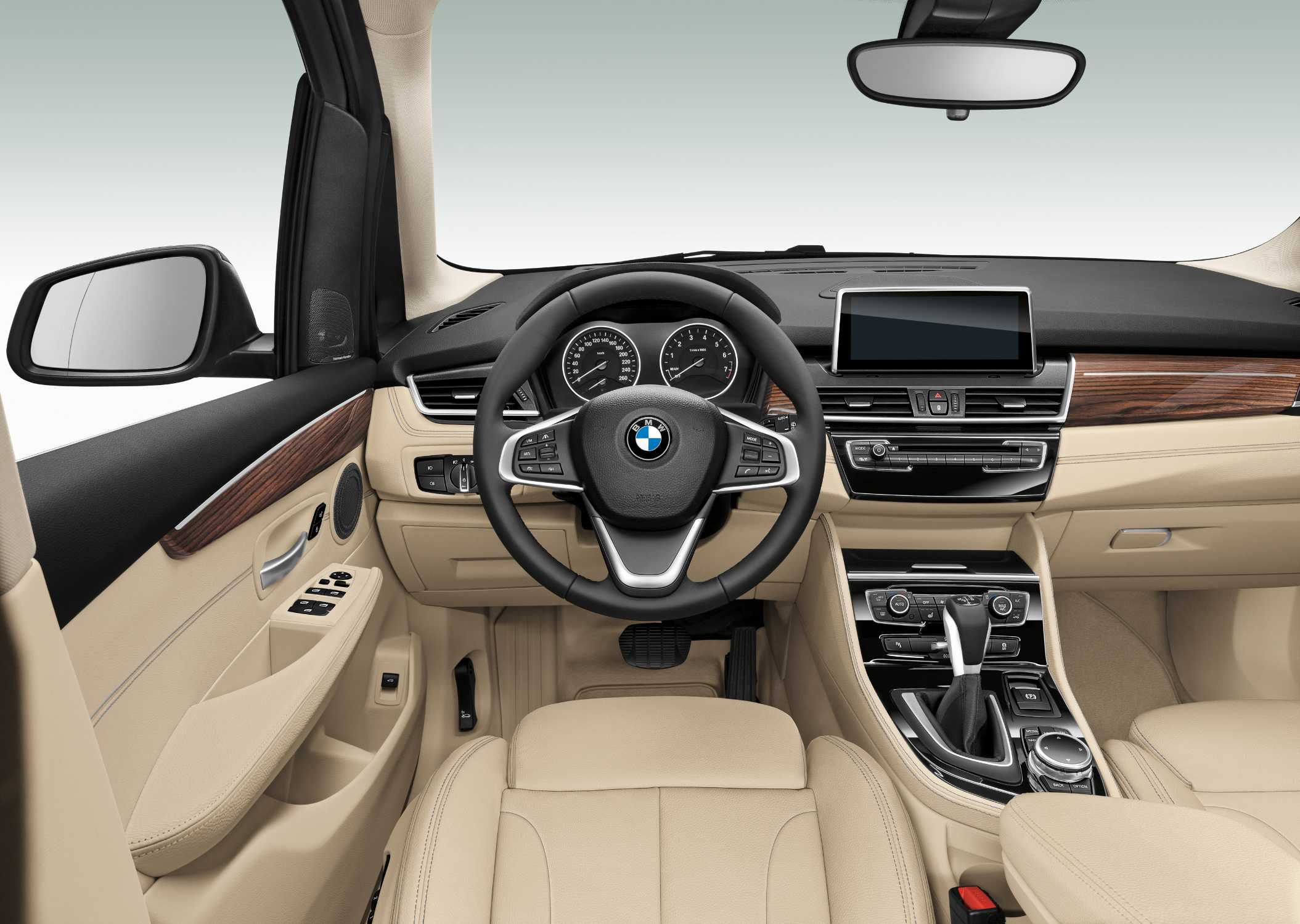 BMW 2 Series Active Tourer Interior 02 2014