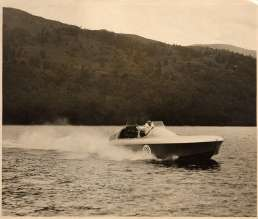 K3 ON LOCH LOMOND, 1937 (image gratefully supplied by the Varndell Collection)