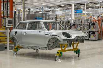 Contract manufacturing of the new MINI model at the VDL Nedcar plant in Born, Netherlands (02/2014)