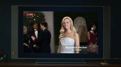 On Monday, February 10, 2014 BMW debuted an all-new television commercial during NBC's broadcast of Sochi 2014, featuring the BMW 3 Series, the vehicle that invented the Sports Sedan segment, and actress Brooklyn Decker. In