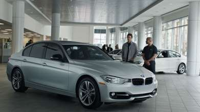 On Monday, February 10, 2014 BMW debuted an all-new television commercial during NBC's broadcast of Sochi 2014, featuring the BMW 3 Series and actress Brooklyn Decker. In