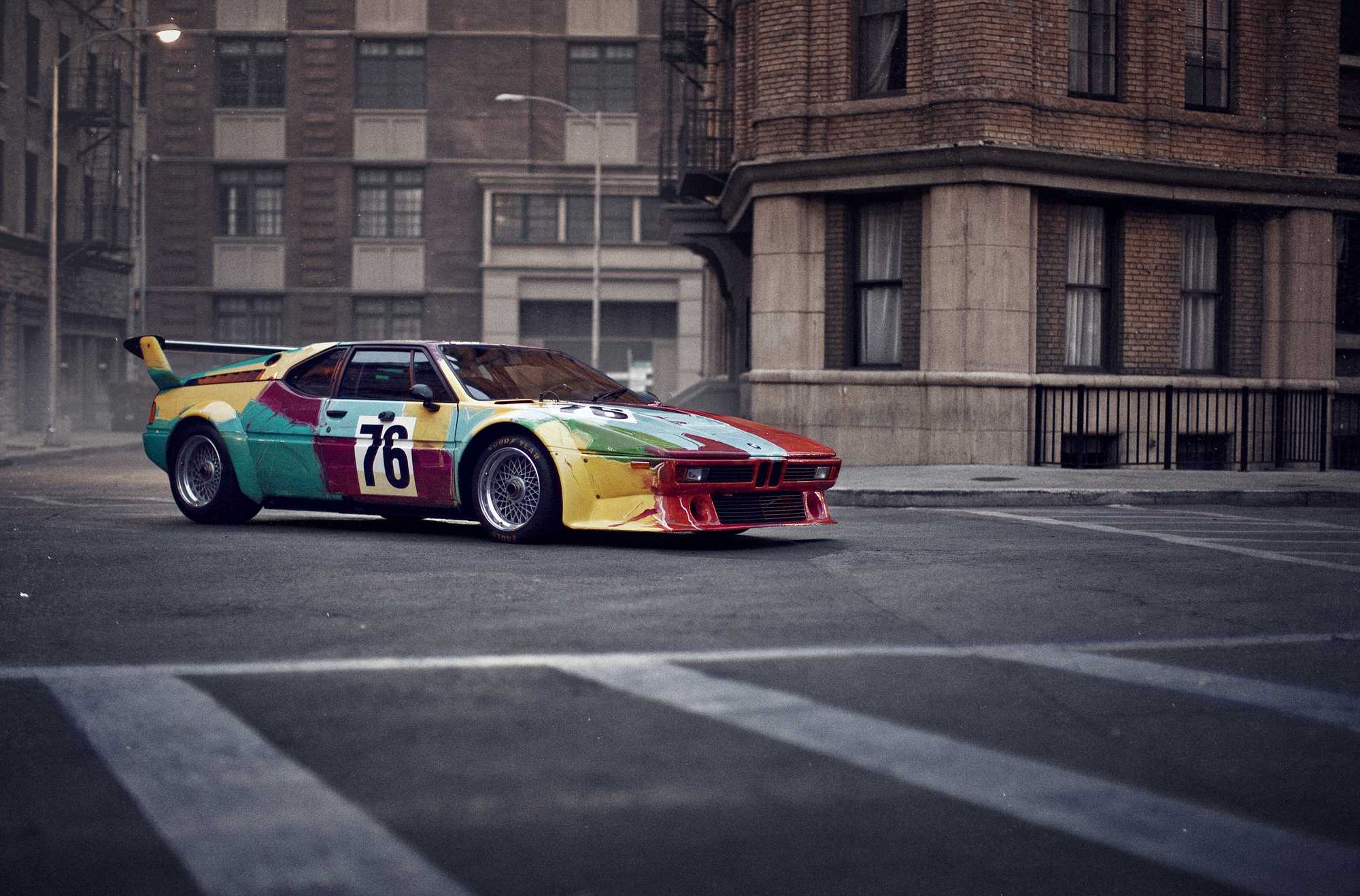 Andy Warhol BMW M1, 1979