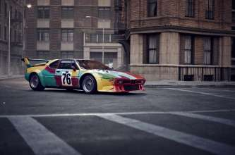 BMW Art Car by Andy Warhol, BMW M1 group 4 racing version, 1979, at the Paris Photo Los Angeles at Paramount Studios © BMW AG (04/2013)