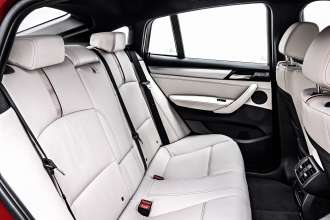 The new BMW X4 with xLine - Nevada leather Ivory White  (02/14).