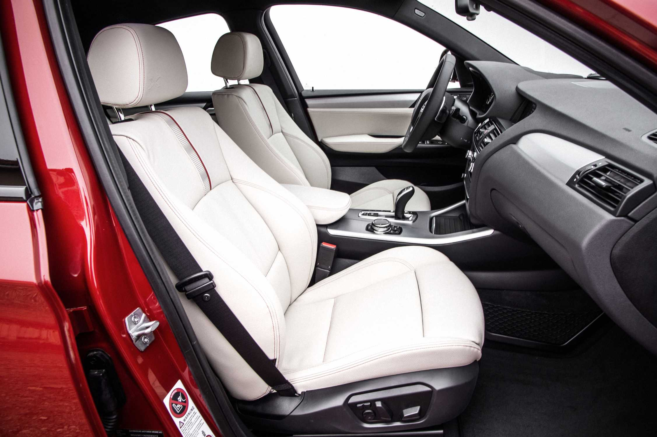 the new bmw x4 with xline nevada leather ivory white 02 14