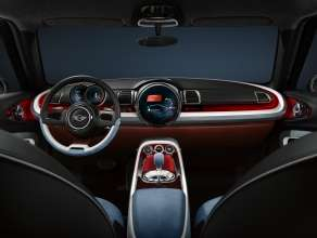 MINI Clubman Concept Interior. (02/14)