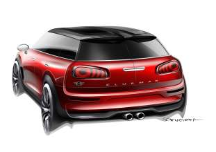 MINI Clubman Concept sketches (02/2014)