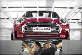 MINI Clubman Concept design process (02/2014)