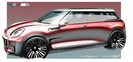 MINI Clubman Concept sketches (02/2014)