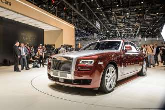 ROLLS-ROYCE GHOST SERIES II AT 2014 GENEVA MOTOR SHOW