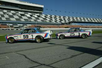 Sebring and Daytona Winning BMW 3.0 CSLs. (03/2014)