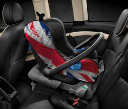 MINI baby carry-seat Union Jack. (03/2014)
