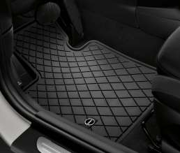 All-weather floor mat essential black. (03/2014)
