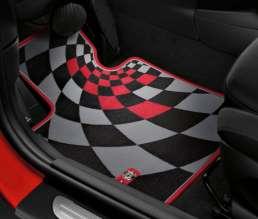 John Cooper Works Pro textile floor mat. (03/2014)