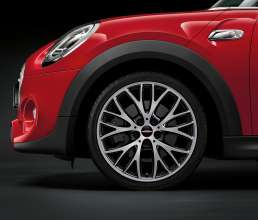 John Cooper Works Styling 506 bright turned bicolor 18 Inch summer complete wheel. (03/2014)