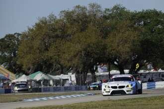12.03.2014 to 15.03.2014, Tudor United Sportscar Championship 2014, Mobil 1 Twelve Hours of Sebring fueled by Fresh from Florida, Sebring International Speedway, Sebring, FL (USA). Dirk Müller (DEU), John Edwards (USA), Dirk Werner (DEU), No 56, BMW Team RLL, BMW Z4 GTE. This image is Copyright free for editorial use © BMW AG