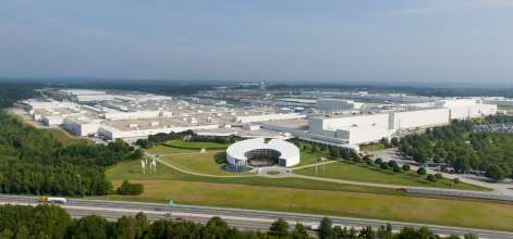 BMW Plant Spartanburg Aerial Photo 2014. (03/2014)