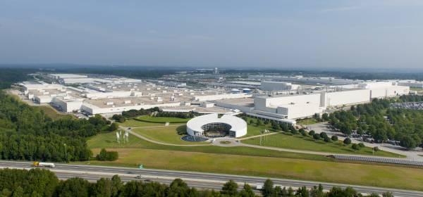 BMW Plant Spartanburg >> Bmw Plant Spartanburg Aerial Photo 2014 03 2014