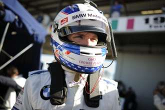 12.03.2014 to 15.03.2014, Tudor United Sportscar Championship 2014, Mobil 1 Twelve Hours of Sebring fueled by Fresh from Florida, Sebring International Speedway, Sebring, FL (USA). Joey Hand (USA), No 55, BMW Team RLL, BMW Z4 GTE. This image is Copyright free for editorial use © BMW AG