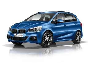 The new BMW 2 Series Active Tourer with M Sportpackage (03/2014).