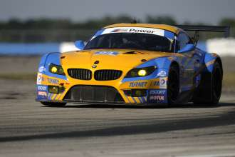 12.03.2014 to 15.03.2014, Tudor United Sportscar Championship 2014, Mobil 1 Twelve Hours of Sebring fueled by Fresh from Florida, Sebring International Speedway, Sebring, FL (USA). Dane Cameron (USA), Paul Dalla Lana (CAN), Markus Palttala (FIN), No 94, Turner Motorsport, BMW Z4. This image is Copyright free for editorial use © BMW AG