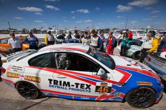 Continental Tire Sports Car Challenge race at Sebring. March 14, 2014