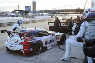 12.03.2014 to 15.03.2014, Tudor United Sportscar Championship 2014, Mobil 1 Twelve Hours of Sebring fueled by Fresh from Florida, Sebring International Speedway, Sebring, FL (USA). Dirk Müller (DEU), John Edwards (USA), No 56, BMW Team RLL, BMW Z4 GTE. This image is Copyright free for editorial use © BMW AG