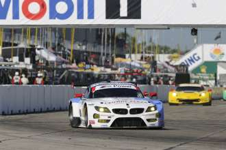 12.03.2014 to 15.03.2014, Tudor United Sportscar Championship 2014, Mobil 1 Twelve Hours of Sebring fueled by Fresh from Florida, Sebring International Speedway, Sebring, FL (USA). Dirk Müller (DEU), John Edwards (USA), Dirk Werner (DEU), No 56, BMW Team RLL, BMW Z4 GTE. This image is Copyright free for editorial use © BMW AG