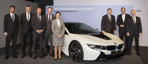 BMW Group Annual Accounts Press Conference in Munich on 19th March 2014.