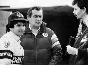 Paul Rosche, Nelson Piquet and Gordon Murray, 1982 (03/2014)