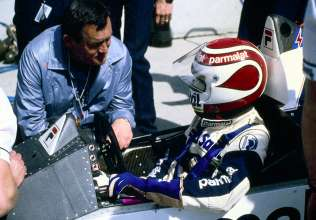 Paul Rosche and Nelson Piquet, 1984, (03/2014)