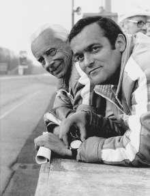 Paul Rosche and Alex von Falkenhausen 1967, (03/2014)