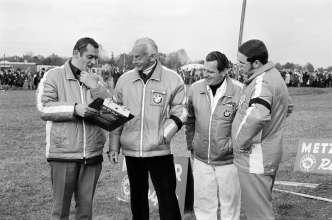 Paul Rosche and Alex von Falkenhausen at the Flughafenrennen Neubiberg 1970, (03/2014)