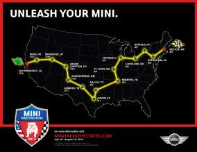 MINI TAKES THE STATES 2014. (03/2014)