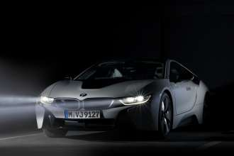 BMW i8: BMW Laserlights (04/2014)