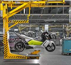 BMW C evolution Finishbereich Werk Berlin (04/2014)