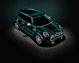 "Alex Coyle's ""DeLux"" design package won the hearts and minds of the tightly knit MINI community and helped her Motor straight into MINI folklore. (04/2014)"