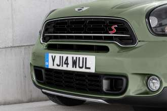 The new MINI Countryman - New radiator grill with horizontal radiator grill rib. (04/2014)
