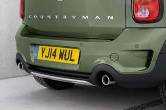 The new MINI Countryman - Underride guard. (04/2014)