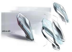 BMW Vision Future Luxury. Skizze. Detail. Interior (04/2014).
