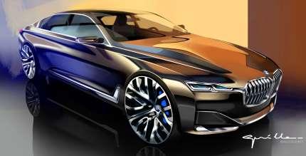 BMW Vision Future Luxury. Sketch. Exterior (04/204).