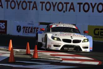 11.04.2014 to 12.04.2014, Tudor United Sportscar Championship 2014, Tequila Patron Sports Car Showcase, Long Beach, CA (USA). Dirk Müller (DEU), John Edwards (USA), No 56, BMW Team RLL, BMW Z4 GTE. This image is Copyright free for editorial use © BMW AG