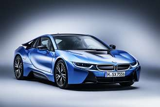 BMW i8 with exclusive full equipment package Pure Impulse (04/2014)