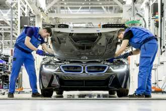 BMW plant Leipzig – assembly of the BMW i (04/2014)